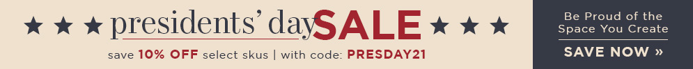 Presidents' Day Sale | save 10% Off Select Skus | With Code: PRESDAY20 | Save Now