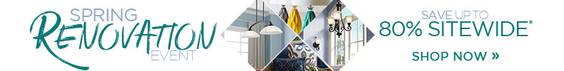 LNY's Spring Renovation Event | Save Up To 80% OFF Sitewide* | Shop Now