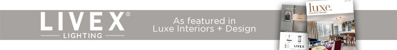 Livex Lighting | As featured in Luxe Interiors + Design