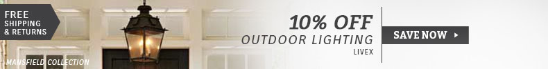 Livex | 10% Off Outdoor Lighting