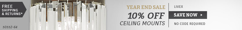 Livex | 10% OFF Ceiling Mounts