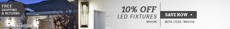 Maxim Lighting | 10% Off LED Fixtures