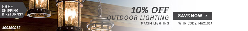 Maxim Lighting | 10% OFF Outdoor Lighting