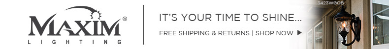 Maxim Lighting | It's Your Time to Shine | Free Shipping & Free Returns* | Shop Now