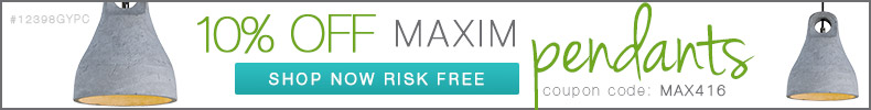 Maxim | 10% Off Pendants