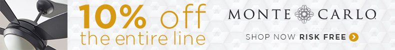 Monte Carlo Ceiling Fans | 10% OFF Entire Line