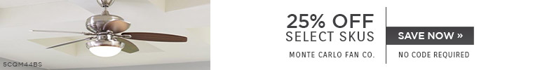 Monte Carlo | 25% Off Select Skus | No Code Required | Save Now