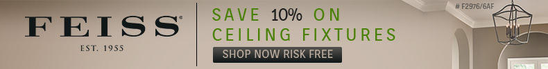 Feiss Lighting | 10% OFF Ceiling Mounts
