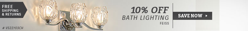 Feiss | 10% Off Bath Lighting