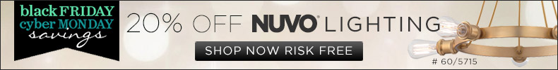 Nuvo Lighting l 20% off the entire line