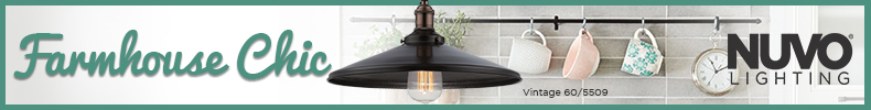 Nuvo Lighting | Shop the Farmhouse Chic Collection