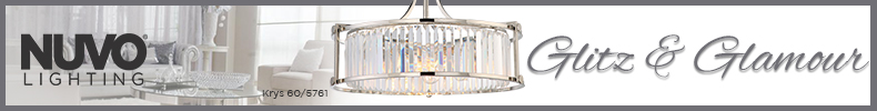 Nuvo Lighting | Shop the Glitz & Glamour Collection