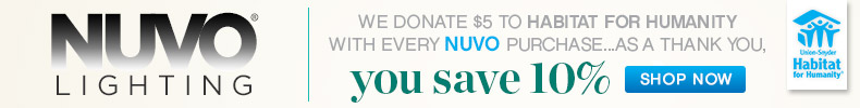 Nuvo | Habitat for Humanity | 10% OFF Entire Line