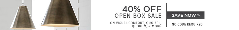 40% OFF Open Box Sale