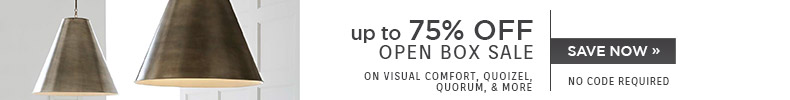 up to 75% OFF Open Box Sale