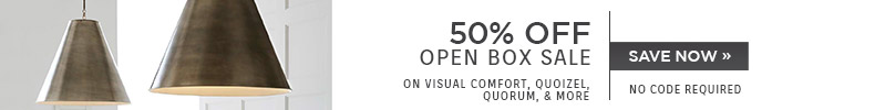 50% OFF Open Box Sale