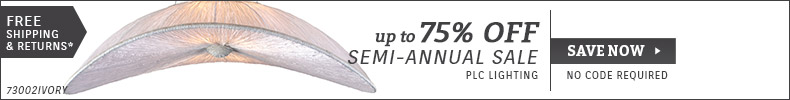 PLC Lighting | Semi-Annual Sale | Up To 75% OFF Select Skus