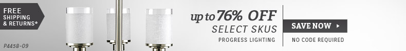 Progress | Up To 40% OFF Select Skus