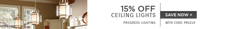 Progress Lighting | 15% OFF Ceiling Lights | with code: PRG219 | Save Now