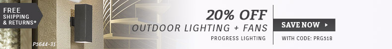 Progress Lighting | 20% OFF Outdoor Lighting