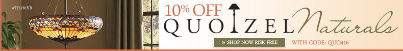 Quoizel Lighting | 10% OFF Naturals