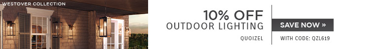 Quoizel Lighting | 10% Off Outdoor Lighting | With code: QZL619
