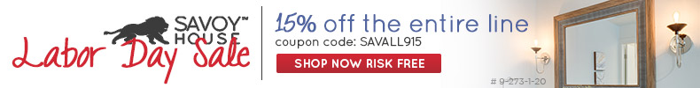 SAVOY HOUSE | 15% off The ENTIRE Line