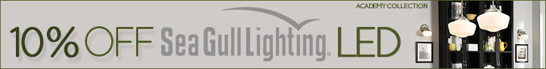 10% OFF SEA GULL LIGHTING LED!