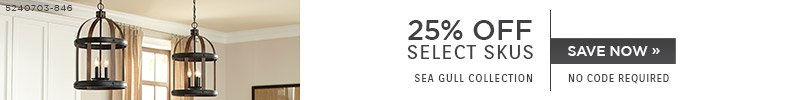 Sea Gull Collection | 25% OFF Select Skus | No Code Required | Save Now