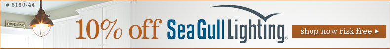 Save 10% on Sea Gull Lighting!