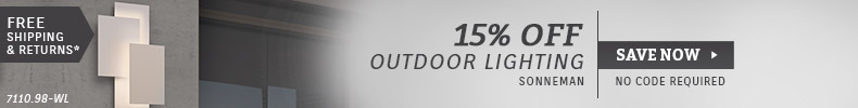 Sonneman | 15% OFF Outdoor Lighting