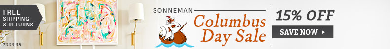 Sonneman Columbus Day Sale - 15% Off the Entire Line