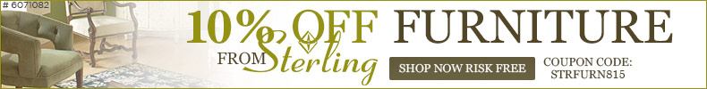 10% off Furniture from STERLING!
