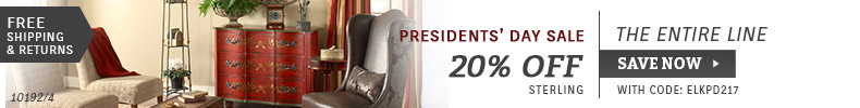 Save 20% Off this Presidents' Day!