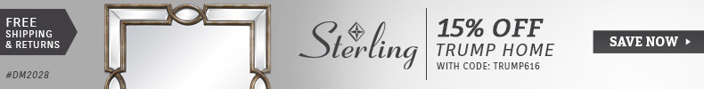Sterling Industries | Trump Home Sale | 15% Off
