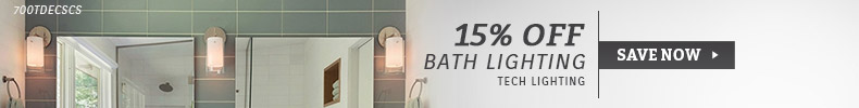 Tech Lighting | 15% Off Bath Lighting