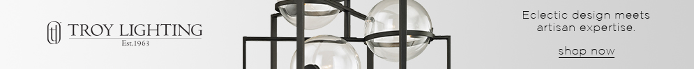 Troy Lighting | Eclectic design meets artisan expertise | shop now (COPY)