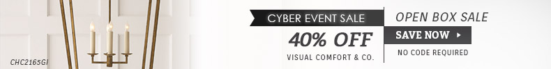 Visual Comfort | Cyber Event Sale | 35% OFF Open Box Sale