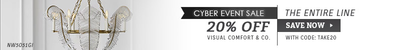 Visual Comfort | Cyber Week Sale | 20% OFF The Entire Line