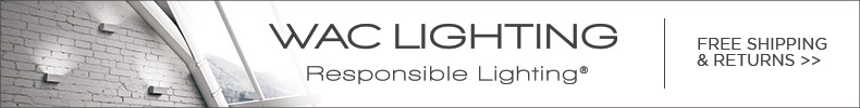 WAC LIGHTING | Responsible Lighting | Free Shipping & Returns