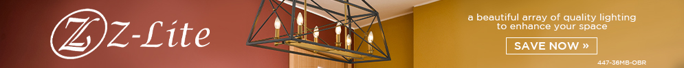 Z-Lite | A beautiful array of quality lighting to enhance your space | Save Now