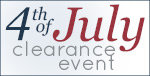 SHOP the 4th of July Clearance Event!