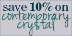10% OFF Crystorama Contemporary Crystal!