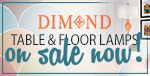 Save 10% on DIMOND LAMPS!