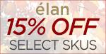 Élan fancy fall savings! 15% OFF SELECT SKUS!