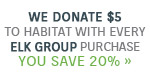 Lighting New York & Elk Group Present | We're In this Together | We Donate $5 to Habitat for Humanity with every Elk Group purchase | As a thank you, you save 15% with code: ELK919 | Save Now