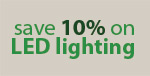 Save 10% on ET2 LED Lighting!