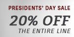 ET2 Lighting | Presidents' Day Sale | 15% Off the Entire Line
