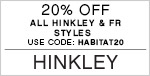 20% Off All Hinkley & Fredrick Ramond Styles | Use Code: HABITAT20