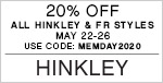 Memorial Day Event | 20% Off All Hinkley & Fredrick Ramond Styles | With Code: MEMDAY2020 | Shop Now